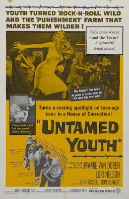 Untamed Youth (1957, USA) movie poster