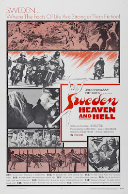 Sweden, Heaven and Hell (Svezia, inferno e paradiso) (1968, Italy) movie poster