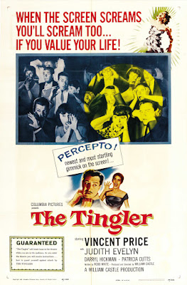 The Tingler (1959, USA) movie poster
