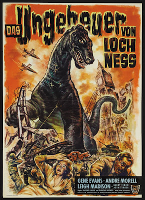 The Giant Behemoth (Behemoth the Sea Monster) (1959, UK / USA) German poster