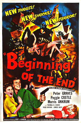 Beginning of the End (1957, USA) movie poster