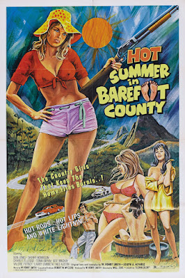 Hot Summer in Barefoot County (1974, USA) movie poster