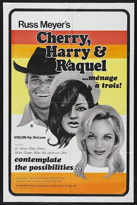 Cherry, Harry & Raquel! (1970, USA) movie poster