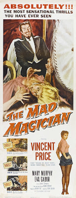 The Mad Magician (1954, USA) movie poster