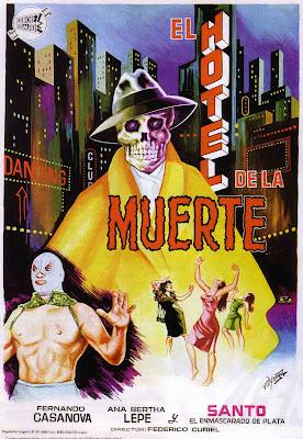 Santo in Hotel of Death (Santo en el hotel de la muerte) (1963, Mexico) movie poster