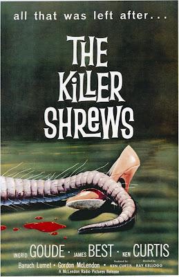 The Killer Shrews (1959, USA) movie poster