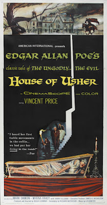 House of Usher (1960, USA) movie poster