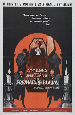 Premature Burial (1962, USA) movie poster