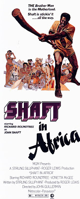 Shaft in Africa (1973, USA) movie poster