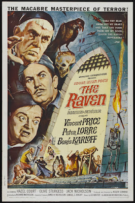 The Raven (1963, USA) movie poster