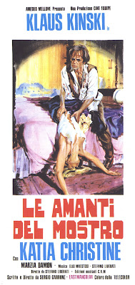 Lover of the Monster (Le Amanti del mostro) (1974, Italy) movie poster
