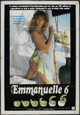 Emmanuelle 6 (1988, France) movie poster
