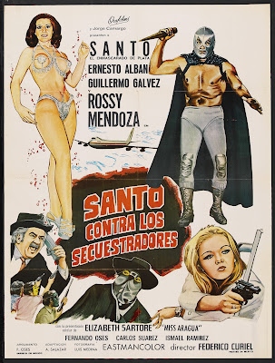 Santo vs. the Kidnappers (Santo contra los secuestradores) (1973, Mexico) movie poster