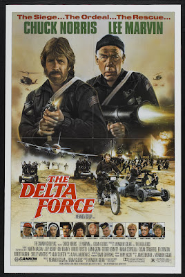 The Delta Force (1986, USA / Israel) movie poster