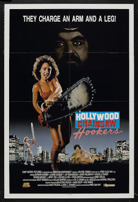 Hollywood Chainsaw Hookers (1988, USA) movie poster