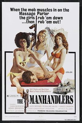 The Manhandlers (1975, USA) movie poster