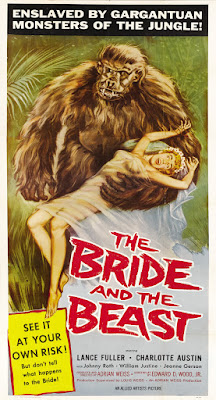 The Bride and the Beast (1958, USA) movie poster