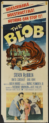 The Blob (1958, USA) movie poster
