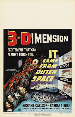 It Came from Outer Space (1953, USA) movie poster
