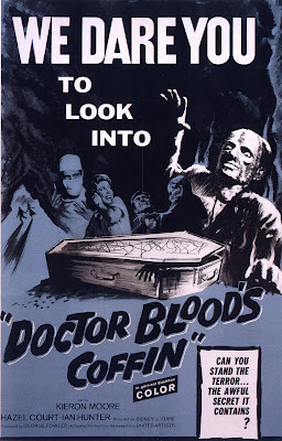 Doctor Blood's Coffin (1961, UK) movie poster