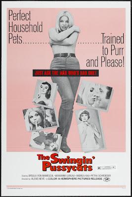 The Swingin' Pussycats (Rat' mal, wer heut bei uns schläft...?) (1969, Germany) movie poster