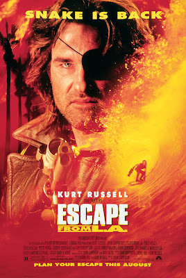 John Carpenter's Escape from L.A. (1996, USA) movie poster