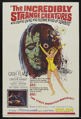 The Incredibly Strange Creatures Who Stopped Living and Became Mixed-Up Zombies!!? (1964, USA) movie poster