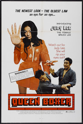 Queen Boxer (Chou, aka The Avenger) (1972, Hong Kong) movie poster