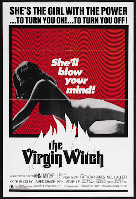 Virgin Witch (1972, UK) movie poster