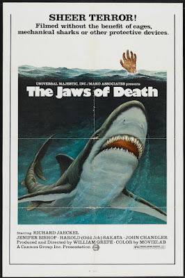 The Jaws of Death (aka Mako: The Jaws of Death) (1976, USA) movie poster
