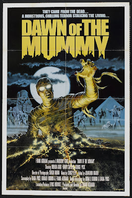 Dawn of the Mummy (1981, USA / Italy / Egypt) movie poster