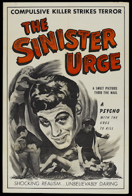 The Sinister Urge (1960, USA) movie poster