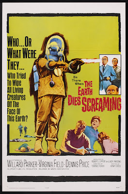 The Earth Dies Screaming (1965, UK) movie poster
