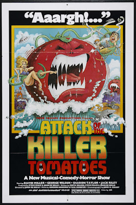 Attack of the Killer Tomatoes! (1978, USA) movie poster