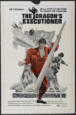 The Dragon's Executioner (Chung kuo ren, aka The Dragon's Vengeance) (1972, Taiwan / Hong Kong) movie poster