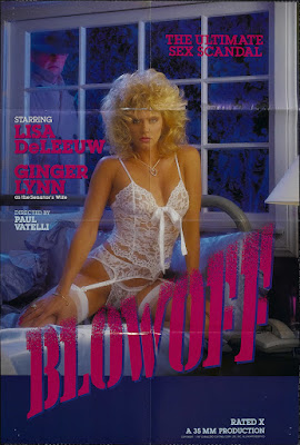 Blowoff (1987, USA) movie poster