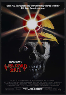 Graveyard Shift (1990, USA / Japan) movie poster