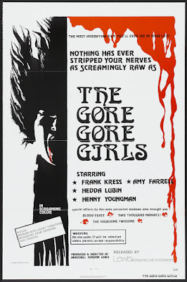 The Gore Gore Girls (1972, USA) movie poster