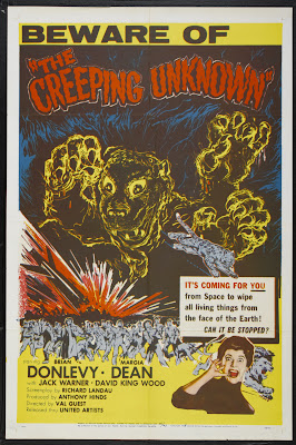 The Quatermass Xperiment (aka Shock, aka The Creeping Unknown) (1955, UK) movie poster