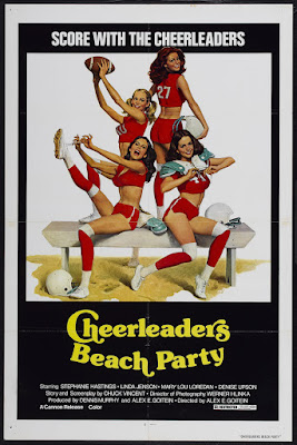 Cheerleaders' Beach Party (1978, USA) movie poster