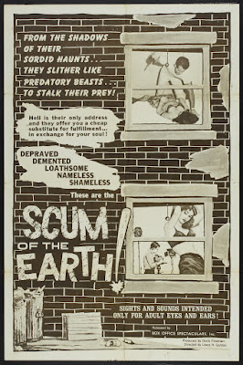 Scum of the Earth (1963, USA) movie poster