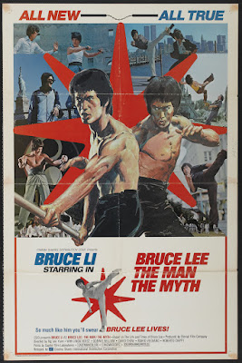 Bruce Lee: The Man, the Myth (Li Hsiao Lung chuan chi, aka The Dragon Lives) (1976, Hong Kong) movie poster