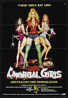 Cannibal Girls (1973, Canada) movie poster
