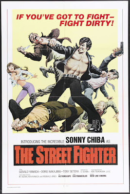 The Street Fighter (Gekitotsu! Satsujin ken) (1974, Japan) movie poster