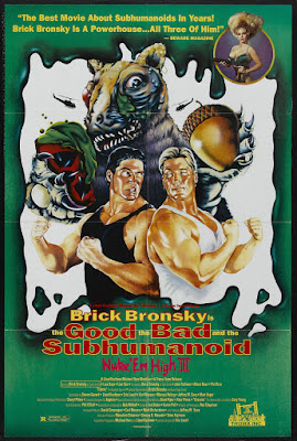 Class of Nuke 'Em High 3: The Good, the Bad and the Subhumanoid (1994, USA) movie poster