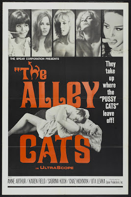 The Alley Cats (1966, USA) movie poster