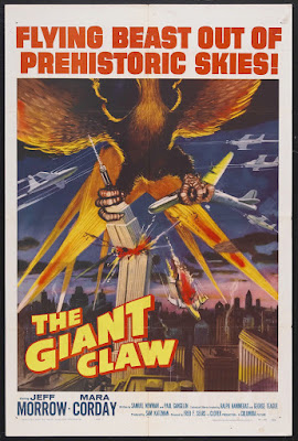 The Giant Claw (1957, USA) movie poster
