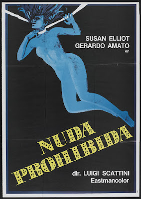 Blue Nude (1977, Italy) movie poster
