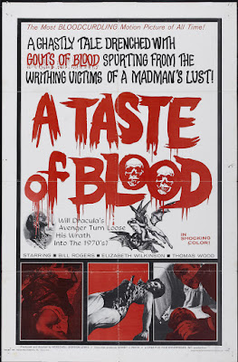 A Taste of Blood (1967, USA) movie poster