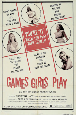 Games Girls Play (aka Sex Play) (1974, UK) movie poster